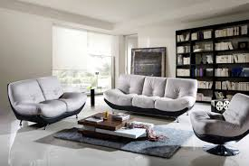 urban living room area with two tone low sitting couch cheap
