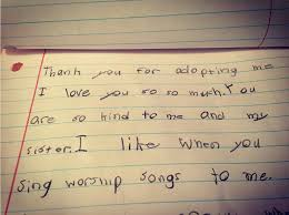her 9 year old son wrote this letter for mother u0027s day but she