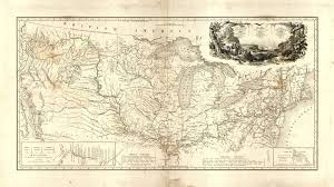 American Route Map by Map To Illustrate The Route Of Prince Maximilian Of Wied In The