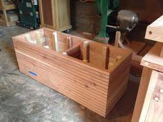 modern contemporary planter box by midcenturywoodshop on etsy