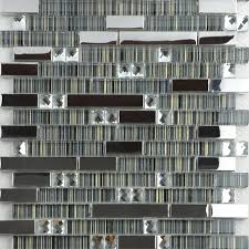 stainless steel mosaic tile backsplash wholesale metallic backsplash 304 stainless steel sheet metal and