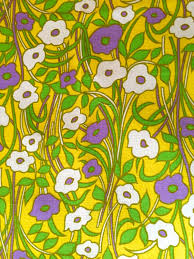 delightful daisies groovy 60s boho chic fabric flower power