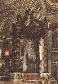 baldacchino by bernini baroque