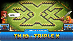 clash of clans farming guide cool clash of clans fun wall art th10 triple x defense