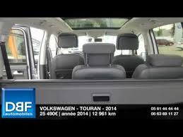 siege sharan occasion annonce occasion volkswagen touran 2 0 tdi140 fap carat 2014