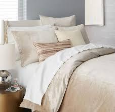 Williams Sonoma Bedding Washed Luster Velvet Duvet Cover Duvets Pillows From
