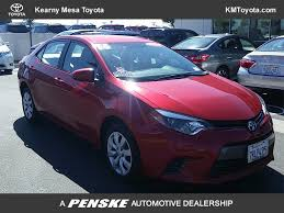 2016 used toyota corolla le at kearny mesa toyota serving kearny