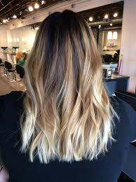 creating roots on blonde hair ombré balayage with dark brown root warm blonde balayage hair
