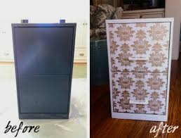contact paper file cabinet a stylish filing cabinet makeover blue door living