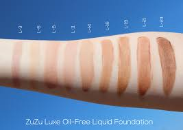 zuzu luxe from gabriel cosmetics oil free liquid foundation