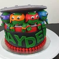 tmnt cake spice monkey bakery children s cakes