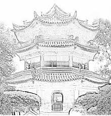 sketches for chinese buildings sketch www sketchesxo com