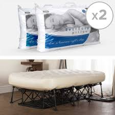 Inflatable Bed With Frame Ez Bed Durable Inflatable Automatic Air Mattress On Folding Frame