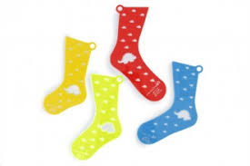 Blockers Uk Yarnistry Pair Of Acrylic Sock Blockers Dinosaur Design