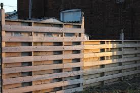 horizontal shadowbox fence fencing ideas pinterest privacy
