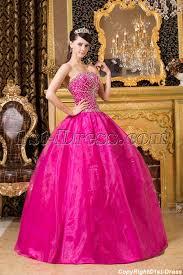 quinceanera pink dresses hot pink beaded quinceanera dresses 1st dress