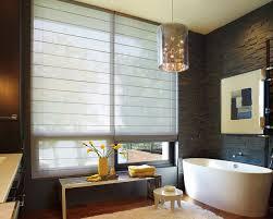 Roman Shades For Bathroom Hunter Douglas Alustra Woven Textures Roller Shades And Roman