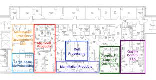 floor plan picture facility floor plan facility waisman biomanufacturing