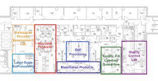 facility floor plan facility floor plan facility waisman biomanufacturing
