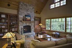 interior fireplace designs with brick small stone kits wood