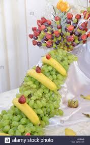 fruits arrangements fruits arrangements for wedding reception or similar events stock