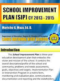 lnhs improvement plan 2013 2015 bullying educational