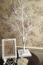 wedding wishing trees wedding wish tree manzanita vintage aged ivory white wishing tree