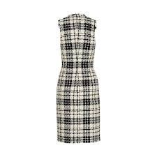 Sleeveless Dress With Tartan Print Ready To Wear Louis Vuitton