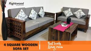 Interior Decor Sofa Sets by Sofa Set Wooden Four Square New Design 2016 2017 By Rightwood