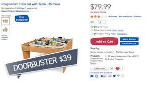 Imaginarium Train Set With Table 55 Piece Top 50 Toys R Us Black Friday Deals 2013 The Krazy Coupon Lady