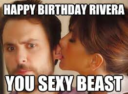 You Sexy Beast Meme - happy birthday you sexy beast