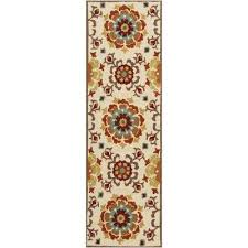 Outdoor Rug Runner White Outdoor Rugs Rugs The Home Depot