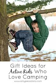 gifts for active kids who love camping