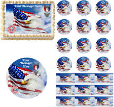 eagle scout cake topper scout court of honor edible cake topper image cupcakes eagle scout
