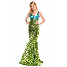 Womens Mermaid Halloween Costume Aliexpress Buy Mermaid Costume Mermaid Tail