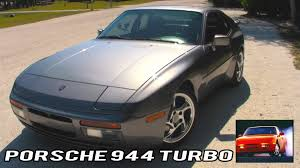 porsche 944 road test porsche 944 turbo review with sounds and racing
