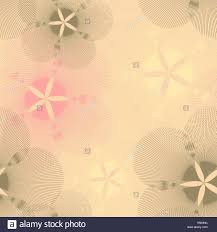 graphic flowers seamless pattern in pink and gray shades stock