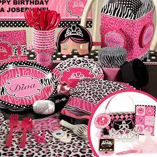 cheetah print baby shower theme home decorating interior design
