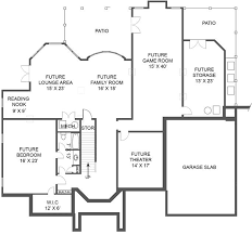 european french home with 5 bdrms 4553 sq ft floor plan 106 1157