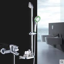 Bathtub Handheld Shower Wall Mounted Shower Faucet And Bracket Set Bathroom Handheld