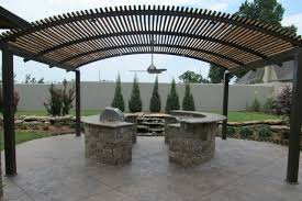 Pergola With Shade by Steel Shade Pergolas Provide A Shade Covering For Your Patio Or