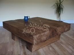 rustic oak coffee table 20 ideas of rustic oak coffee tables