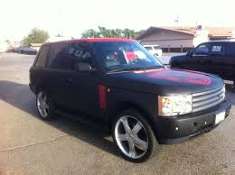 matte range rover nick cannon ncredible entertainment range rover wrapped in matte black