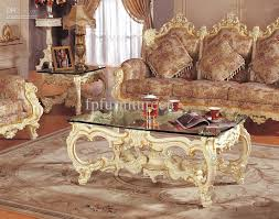 European Living Room Furniture Selling Rococo Style Living Room Sofa Set Palace Royal