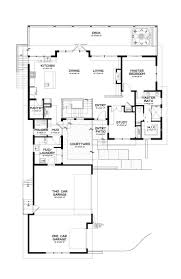 Narrow House Plans With Garage L Shaped Housing Plans Attractive Home Design