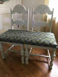 diy leather reupholstered bench makeover that anyone can do