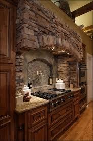 Kitchen  Kitchens With Brick Accent Walls Exterior Brick Veneer - Brick veneer backsplash