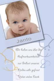 sprüche danksagung geburt geburtskarten dankeskarten geburt babykarten jungen
