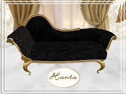 Black Chaise Lounge Second Marketplace Classic Chaise Lounge Black Single
