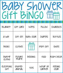 baby shower gift bingo free printable baby shower bingo cards baby shower bingo free